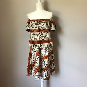 Hand made African print 2 piece set size 8/10